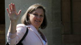 Washington and Moscow drop some tit-for-tat sanctions to allow blacklisted Victoria 'f**k the EU' Nuland enter Russia for talks