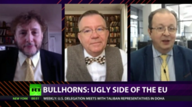 CrossTalk Bullhorns, HOME EDITION: Ugly side of the EU