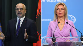 Annexing Kosovo to create 'Greater Albania' would shatter peace in Balkans, Russia warns, telling West to help end 'provocations'