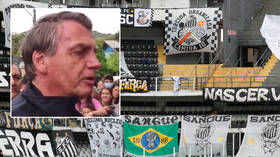 'Why a vaccine passport?' Brazil president Bolsonaro claims he was barred from football game because he has not had jabs (VIDEO)