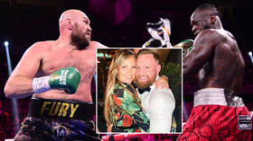 UFC star McGregor lavishes praise on Fury and Wilder... but can't resist dig at Poirier over 'fake celebrating' a 'freak injury'