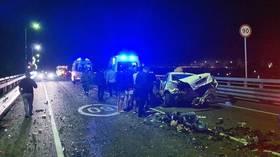 Former presidential candidate & daughter of Putin mentor Sobchak slammed after leaving scene of horror fatal Sochi car smash