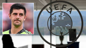 'They don't care about the players – they just care about their pockets': Belgium star Courtois unleashes on UEFA in savage rant