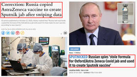 Daily Express RETRACTS story on Russia 'stealing' Sputnik V vaccine recipe, but the original fake-news publisher the Sun persists