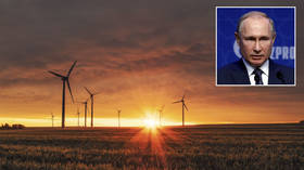Soaring gas prices in Western Europe down to mistaken reliance on wind farms, Russia on track for record exports in 2021 – Putin