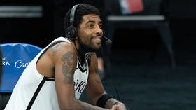'It's not about the money': NBA's Irving insists vaccine choice is about freedom... but top pundit blasts 'flat-out stupid' stance