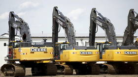 US labor chaos continues as 10,000 John Deere employees announce strike