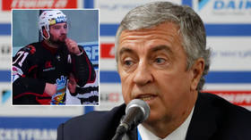 'We have to pressure them': Hockey chief wants new rules in Ukraine after black player leaves club over banned star's monkey taunt