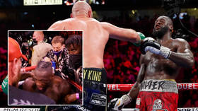 Wilder congratulates Fury as he breaks his silence on epic KO defeat – but footage shows him snubbing Brit after the fight (VIDEO)