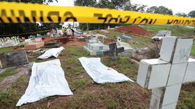 Panama exhumes bodies from mass grave during search for victims of 1989 US invasion – media