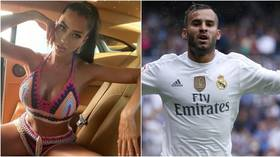 'It's a lie and very serious': Football badboy Jese Rodriguez's lover DENIES claims that she ran him over after row (VIDEO)
