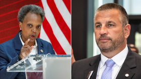 Chicago's mayor & police union duel in court over Covid-19 vaccine mandate as gun violence continues to careen out of control