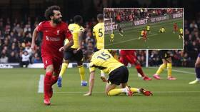 'There are no words': Mo Salah produces RIDICULOUS solo goal AGAIN as fans hail Egyptian as best in world (VIDEO)