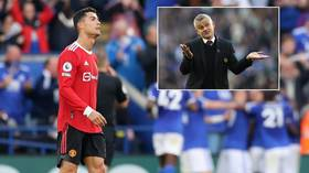 'Honeymoon is over': Ronaldo roasted as 'dreadful' & Solskjaer slammed as Man Utd fall to 'embarrassing' loss at Leicester City