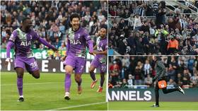 'Disgraceful': Fans hit out at Son for celebrating goal shortly after medical emergency at Newcastle-Tottenham match