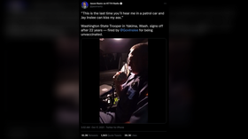Viral VIDEO: Veteran state trooper forced out for refusing Covid jab, signs off for last time by telling governor to 'KISS MY ASS'