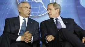 While Bush & Biden praise the late Colin Powell, 'war criminal' trends on Twitter