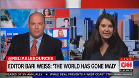Ex-NYT editor Bari Weiss goes on CNN to denounce 'world gone mad' from wokeness and cancel culture (VIDEO)