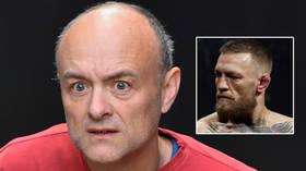'More unexpected than the pandemic': Shock as Boris Johnson's Brexit-plotting old sidekick Cummings advises UFC's McGregor & Diaz