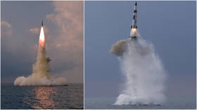 North Korea says it tested NEW type of submarine-launched ballistic missile with 'advanced' guidance & control system