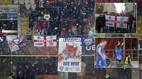 'The Moscow 25': Hardy band of Leicester fans make use of no-quarantine rule, head to Russia for seven-goal Spartak thriller