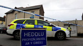 Welsh police station briefly evacuated after member of public hands in suspected bomb