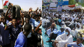 Sudan divided as thousands say they want generals to take over & clean up transitional government's mess