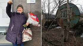 Siberian woman discovered living in metal barrel for MORE THAN THREE DECADES with no heating or power given new home by bloggers