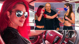 Red Queen returns: MMA stunner who knocked out 240-kilo man admits fight was marketing masterstroke ahead of her Bellator debut
