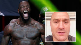 'Perfect sh*thousery': Fury wishes Wilder happy birthday 'from your old pal'... 13 days after viciously knocking him out (VIDEO)