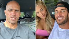 'I know more about being healthy than 99% of doctors': Surf icon Slater rips into vaccine mandates in row with Aussie Ironman star
