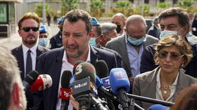 'Kidnaping' trial of ex-Italian interior minister Salvini, who barred cross-sea migrants from entering country, begins in Palermo