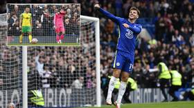 'They should be banned from the Premier League': Fans pile in as Chelsea annihilate hapless Norwich to stay top of table