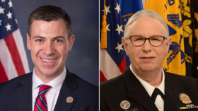 US representatives censored after calling transgender '1st female four-star' admiral a man on Twitter