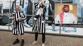 Cultural appreciation: Newcastle say fans CAN wear Arab-style garb in U-turn on tributes to Saudi owners