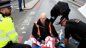 Eco-activists Insulate Britain at it again, as they blockade major London streets after 10-day pause in protests (VIDEOS)