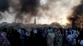 Sudan's military fires 'live bullets' at protesters backing civilian govt, information ministry says, after forces stage coup