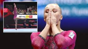 'I'll have a ready-made protest in future' – Russian gymnast Melnikova on judging row amid claims 'optical illusion' cost her gold