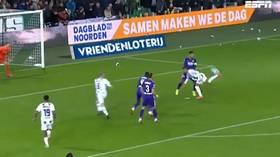 'What a goal!' Fans hail 'Puskas-worthy' scorpion kick strike from Belgian wonderkid Ngonge (VIDEO)