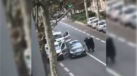 False alarm: Police clear office block in Paris suburb after reports of armed assailant… and find air-conditioning repair man