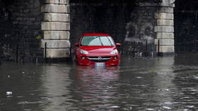 2 dead after devastating storm causes flash floods in southern Italy, turning city streets into rivers (VIDEOS)