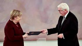 Last day of 16-year job: Merkel relieved of duties, rule praised as 'one of greatest periods in Germany's modern history' (VIDEO)