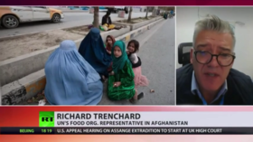 Level of foreign aid is mere 'drop in the ocean' as Afghanistan endures 'terrifying' and worsening hunger, UN official tells RT