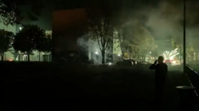 15 vehicles TORCHED in night of violence in Alencon, France after teen's arrest for allegedly dealing drugs