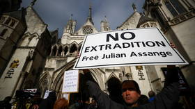 Julian Assange's supporters hold rally outside London court as US launches extradition appeal (VIDEOS)