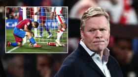 Gone-ald Koeman: Barcelona sack boss less than 2 months after he claimed he had saved club... and fans want Xavi to replace him