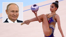 Brink of history: Vladimir Putin congratulates Dina Averina after gymnastics great becomes world champion for a 15th time (VIDEO)