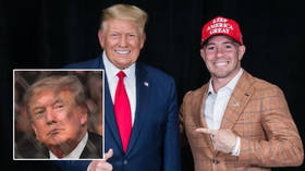 'Donald Trump is going to take back the White House': UFC fighter Covington claims former US president gives him 'dragon energy'