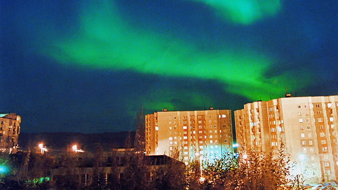 Discovering  Russia : Polar nights, Northern Lights