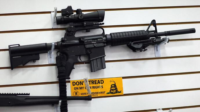 America's newest penis enhancer: The AR-15